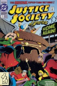 Justice Society of America (2nd Series) 1992 - 1993 #1