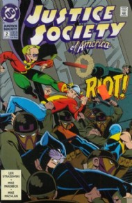 Justice Society of America (2nd Series) 1992 - 1993 #2