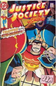 Justice Society of America (2nd Series) 1992 - 1993 #4