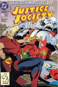 Justice Society of America (2nd Series) 1992 - 1993 #5
