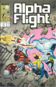Alpha Flight (1st Series) 1983 - 1994 #61