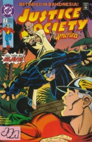 Justice Society of America (2nd Series) 1992 - 1993 #7