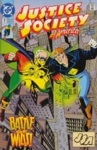 Justice Society of America (2nd Series) 1992 - 1993 #9