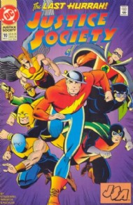 Justice Society of America (2nd Series) 1992 - 1993 #10