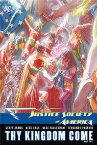Justice Society of America: Thy Kingdom Come 2008 #2