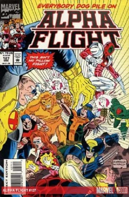 Alpha Flight (1st Series) #127