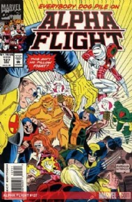 Alpha Flight (1st Series) 1983 - 1994 #127