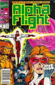 Alpha Flight Special (1st Series) 1991 #4