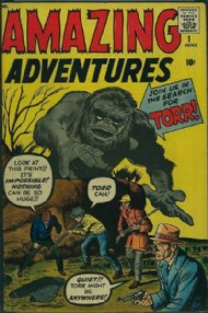 Amazing Adventures (1st Series) 1961 #1