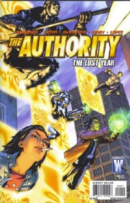 The Authority (Series Three - the Lost Year) 2010 #9