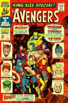 The Avengers (1st Series) Annual #1