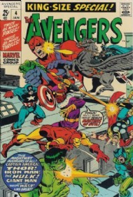 The Avengers (1st Series) Annual 1967 - 1994 #4