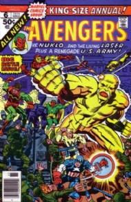 The Avengers (1st Series) Annual 1967 - 1994 #6