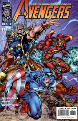 The Avengers (2nd Series) #8