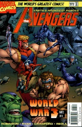 The Avengers (2nd Series) #13