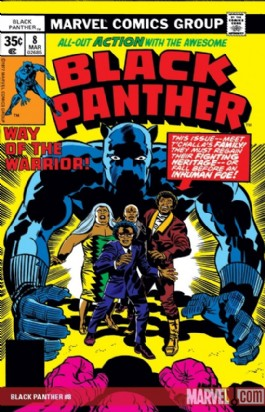 The Black Panther (Series 1) #7