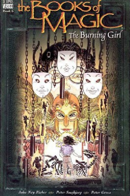 The Books of Magic: the Burning Girl. #6