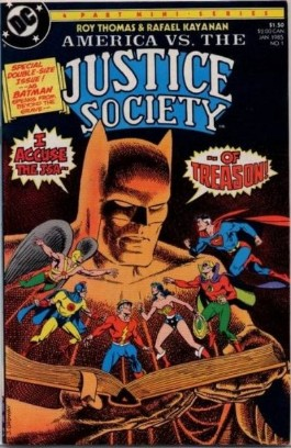 America Versus the Justice Society #1