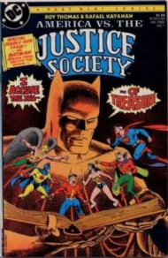 America Versus the Justice Society 1985 #1
