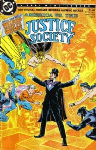 America Versus the Justice Society 1985 #3