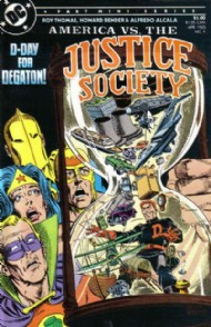 America Versus the Justice Society 1985 #4