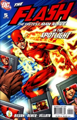 The Flash: the Fastest Man Alive #5