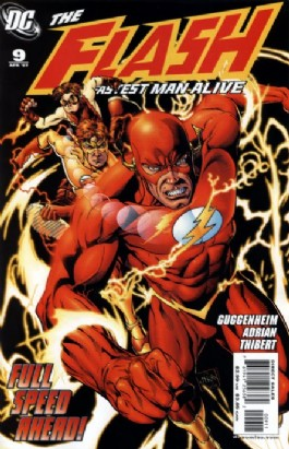 The Flash: the Fastest Man Alive #9