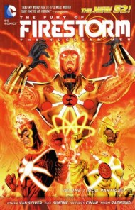 The Fury of Firestorm: the Nuclear Men: God Particle 2012 #1