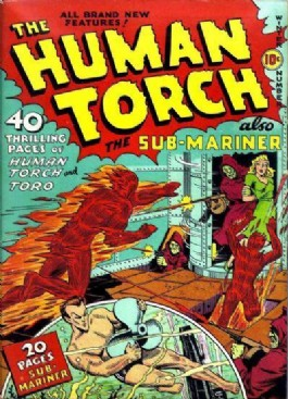 The Human Torch (1st Series) #3