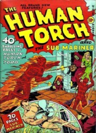 The Human Torch (1st Series) 1940 - 1954 #3