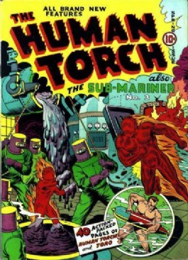 The Human Torch (1st Series) #4