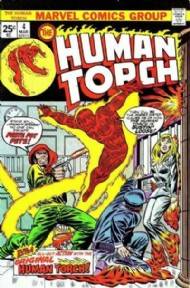 The Human Torch (2nd Series) 1974 - 1975 #4