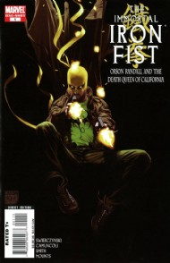 The Immortal Iron Fist: Orson Randall and the Death Queen of California 2008 #1