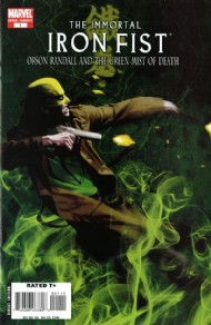 The Immortal Iron Fist: Orson Randall and the Green Mist of Death 2008 #1