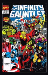 The Infinity Gauntlet 1991 #3