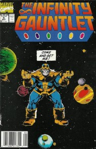 The Infinity Gauntlet 1991 #4