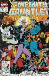 The Infinity Gauntlet 1991 #6