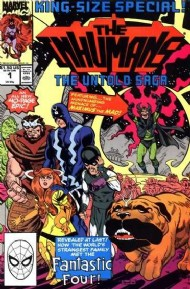 The Inhumans King Size Special 1990 #1
