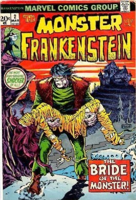 The Monster of Frankenstein #2