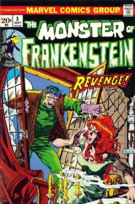 The Monster of Frankenstein #3