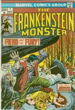 The Monster of Frankenstein #7