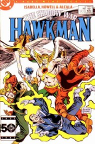 The Shadow War of Hawkman 1985 #4