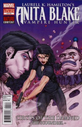 Anita Blake: Circus of the Damned - the Scoundrel #4