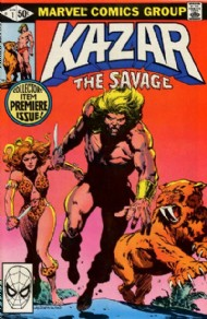 Ka-Zar the Savage 1981 - 1984 #1