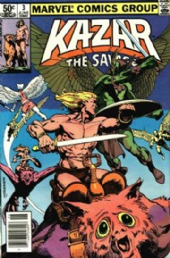 Ka-Zar the Savage 1981 - 1984 #3