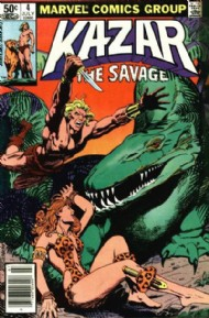 Ka-Zar the Savage 1981 - 1984 #4