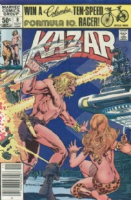 Ka-Zar the Savage 1981 - 1984 #8