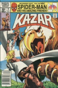 Ka-Zar the Savage 1981 - 1984 #9