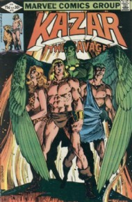 Ka-Zar the Savage 1981 - 1984 #10