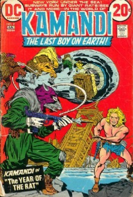 Kamandi the Last Boy on Earth #2